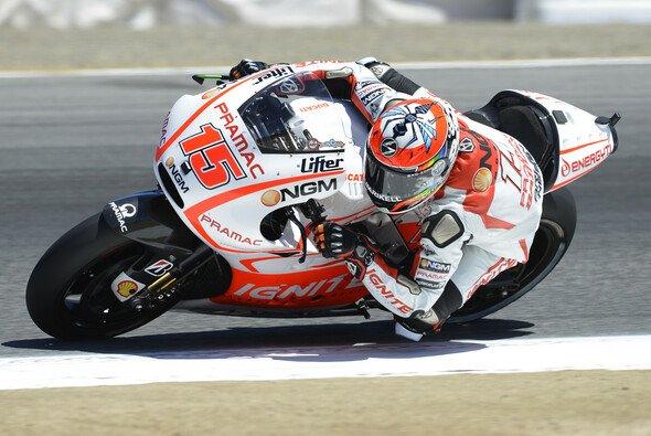 Alex de Angelis bestreite am Sonntag sein erstes MotoGP-Rennen seit drei Jahren