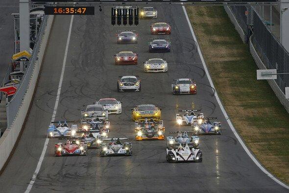 Der Start zum ersten Rennen der europäischen Le-Mans-Serie in Spielberg
