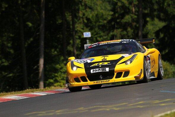 Mike Jäger war im Ferrari von GT Corse erfolgreich