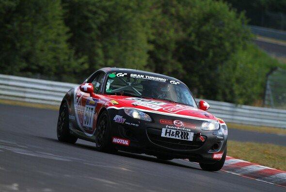 Der Mazda MX-5 wird auch 2014 in der VLN zu sehen sein