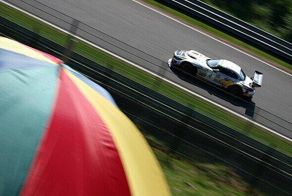 Ein Marc-VDS-BMW bei den 24 Stunden von Spa 2013