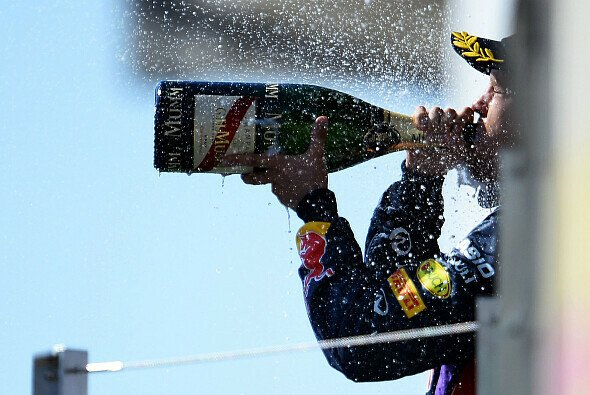 Sebastian Vettel siegte souverän in Belgien - Foto: Red Bull