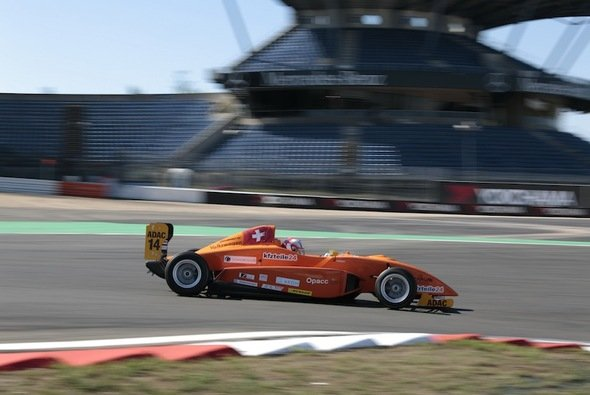 Giorgio Maggi absolvierte sein erst viertes Rennwochenende im Formelsport.