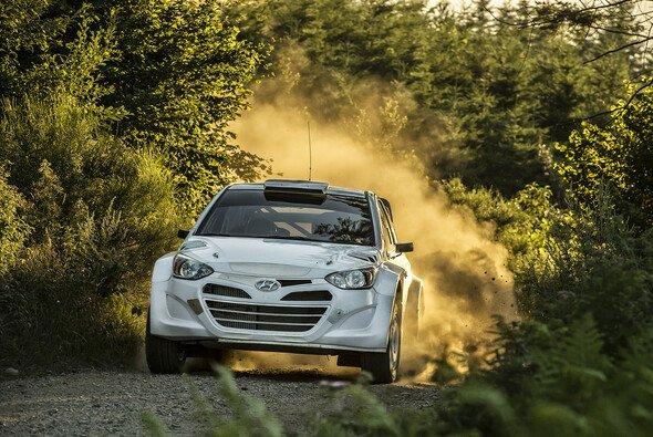 Hyundai hat einen weiteren Meilenstein auf dem Weg zurück in die WRC gemeistert