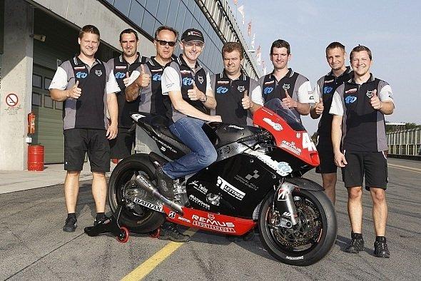 Martin Bauer feierte im Alter von 37 Jahren sein MotoGP-Debüt