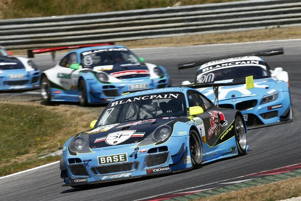 Mario Farnbacher in Aktion am Red Bull Ring - Foto: ADAC GT Masters