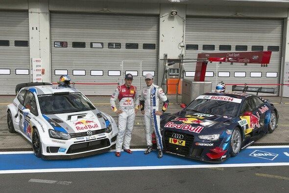 Ekström und Ogier hatten viel Spaß - Foto: Audi