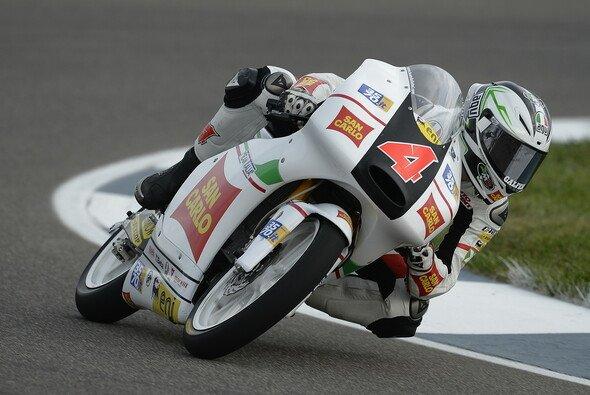 Francesco Bagnaia suchte sich noch kurzfristig eine neue Startnummer aus