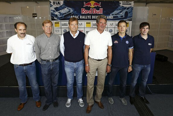 Rommelfanger, Kankkunen, Alen, Tomczyk, Ogier, Griebel - Foto: ADAC Rallye Deutschland