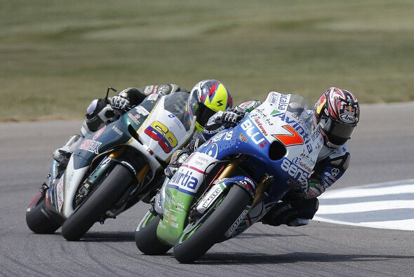 Hiroshi Aoyama freute sich über sein Rennen