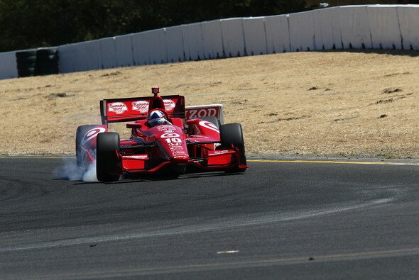 Dario Franchitti ging bis ans Limit