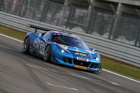Patrik Kaiser ging im Ferrari F458 von GT Corse an den Start...