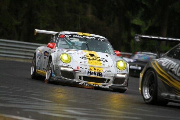 Marcel Belka feierte sein Comeback im Porsche von Black Falcon - Foto: Patrick Funk
