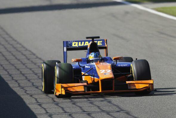 """Adrian Quaife-Hobbs siegte im Sprintrennen in Monza zum Abschied der """"Europa-Saison""""."""