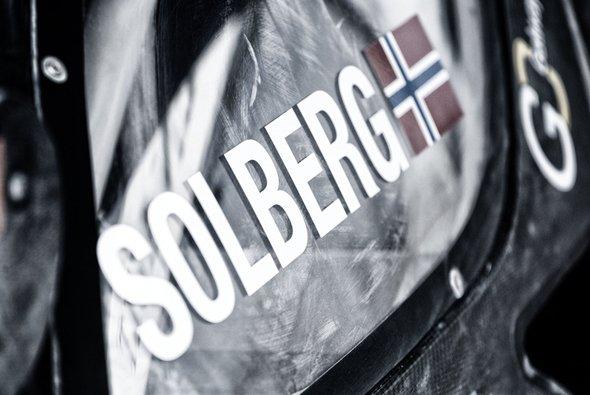 Petter Solberg trat bei der historischen Rallye Schweden an