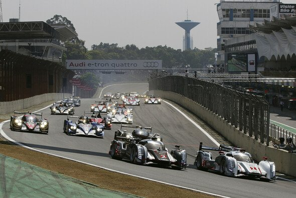 Aufbruchsstimmung: Das Rennen in Interlagos ist der Auftakt zur Welttournee über drei Kontinente