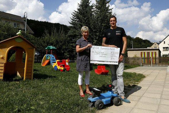 Tonino/Herberth unterstützt einen Kindergarten