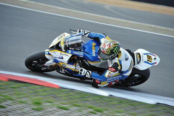 Chaz Davies gab auch am Samstagmorgen die Pace vor - Foto: BMW AG