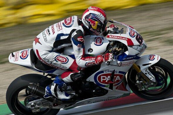 Jonathan Rea brach sich den Oberschenkel - Foto: Honda