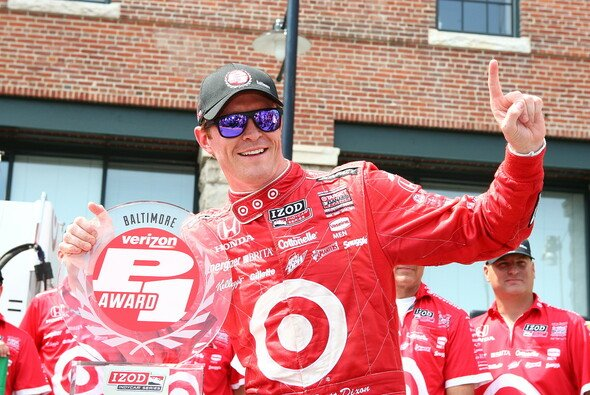 Scott Dixon schnappt sich Pole Position in Baltimore.