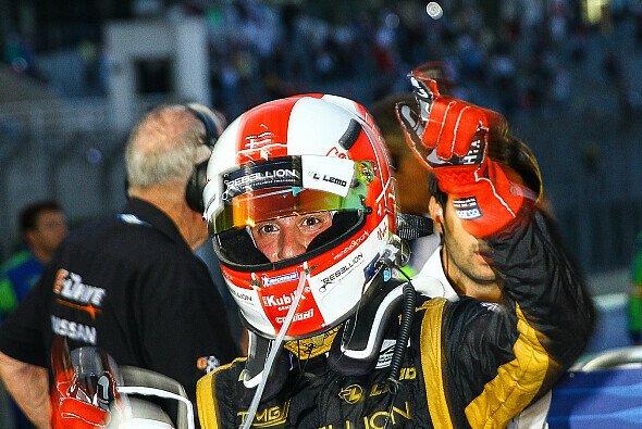 Die wichtigste Testfahrt seiner Karriere? Mathias Beche durfte den Toyota TS040 Hybrid testen - Foto: André Lemes