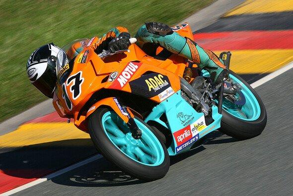 Marc Zellhöfer sicherte sich auf dem Sachsenring die erste Pole Position seiner Karriere