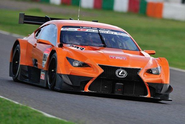 Mit diesem Lexus RC F wird Oliver Jarvis 2014 die Super GT in Angriff nehmen