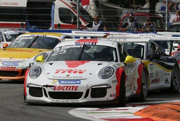 Christian Engelhart sicherte sich die Vize-Meisterschaft im Carrera Cup
