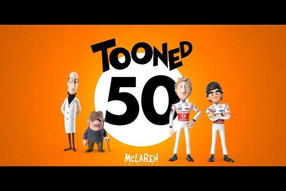 McLaren feiert seine Geschichte