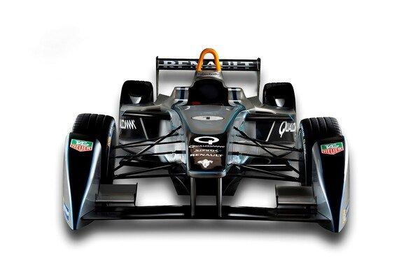 So sieht der Formel-E-Bolide aus - Foto: Formel E