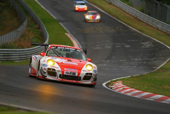 Frikadelli Racing hatte beim Regenrennen in der VLN keinen Erfolg