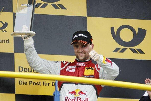 Jamie Green sicherte sich in Oschersleben den dritten Platz auf dem Podium. - Foto: Audi