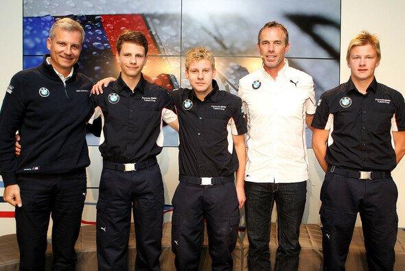 Die Sieger des Formel BMW Talent Cup 2013