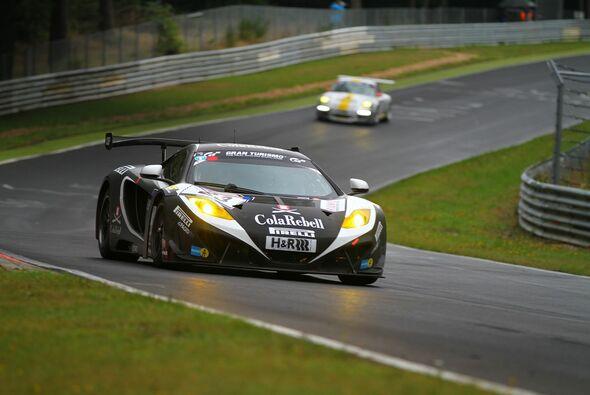 Der Dörr-McLaren erreichte - endlich - das Ziel