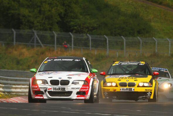 Der BMW M3 erreichte einen vierten Platz in der Klasse V6