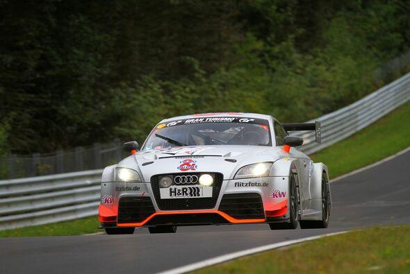 Der race&event-Audi fuhr auf das Podest