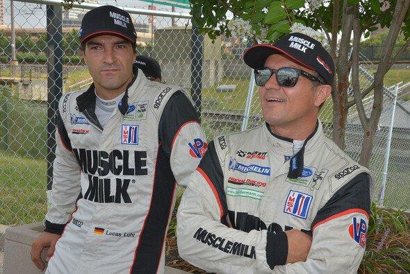 Lucas Luhr (links) und Klaus Graf kurz vor dem Baltimore-Grand-Prix 2013