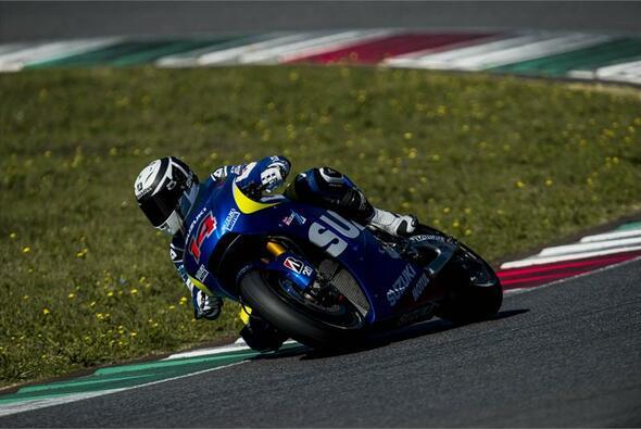 Randy de Puniet testete bereits in der Vorsaison für Suzuki