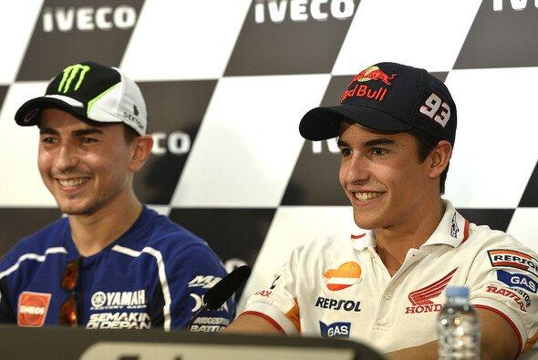Jorge Lorenzo und Marc Marquez bleiben bescheiden