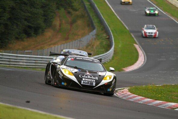 Der Dörr-McLaren steht auf der Pole-Position