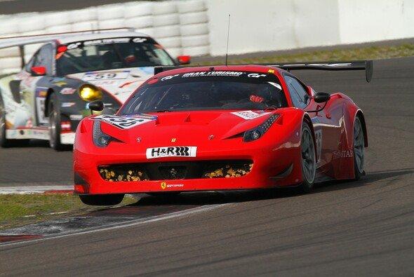 Der GT3-Ferrari von GT Corse fuhr auf Rang fünf