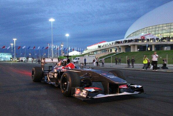 Sergey Sirotkin absolvierte im vergangenen Jahr einen Demorun in Sochi
