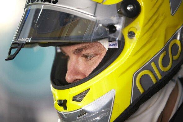 Gestohlen: Ein Unbekannter klaute Nico Rosbergs Helm