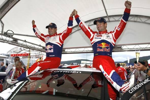 Loeb und Elena gewannen zusammen 9 WRC-Titel - Foto: Citroen