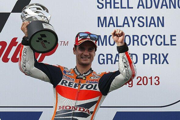 Nach einer Flaute von zehn Rennen ohne Sieg zeigte Pedrosa bei seinem Triumph in Malaysia seine absolute Extraklasse