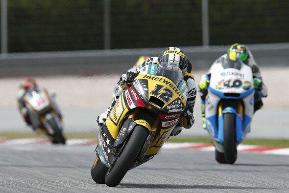 Tom Lüthi kämpft mit den Dunlop-Pneus