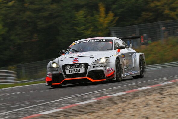 Der Audi von race&event feierte erneut einen Podestplatz