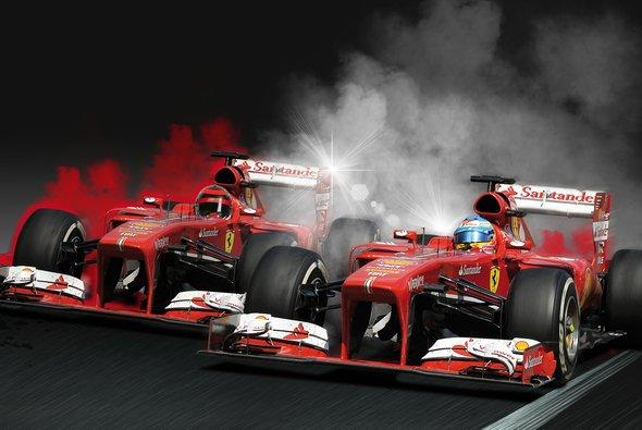 Räikkönen und Alonso geben 2014 bei Ferrari Gas