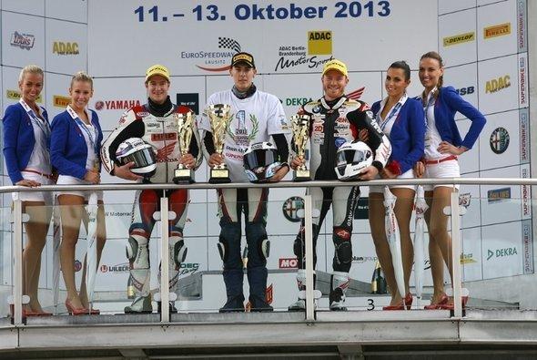 Michael Ranseder beendete zum dritten Mal in Folge die Internationale Deutsche Superbike-Meisterschaft auf Ranf drei.