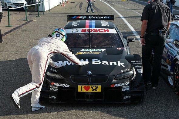 Bruno Spengler darf seinen BMW wieder liebkosen